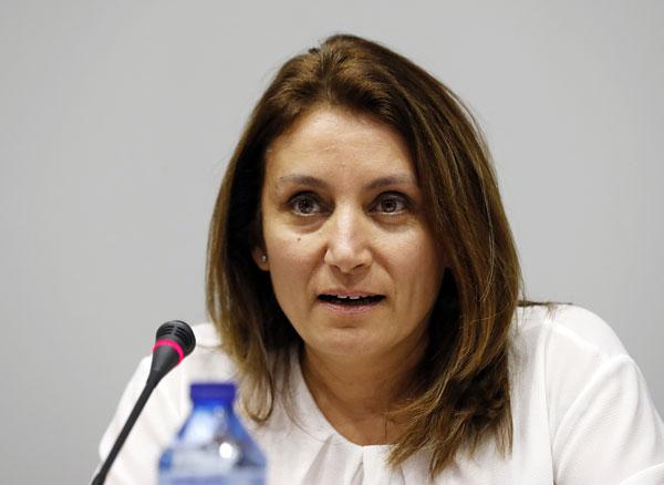 Isabel García, Presidenta de la Comisión Mujer y deporte del Comité Olímpico Español