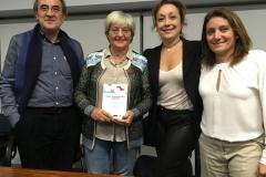 De izquierda a derecha, Florencio Sánchez, María José López, Victorial Cabezas e Isabel García