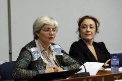La autora del libro Mujer, discriminación y deporte, María José López González
