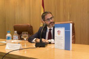 Primer plano de Guillermo Cerdeira Bravo de Mansilla