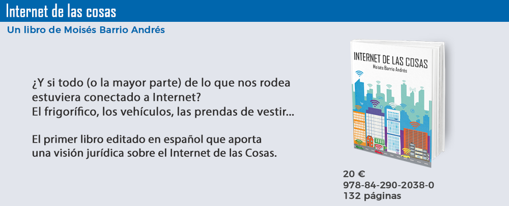 Internet de las Cosas, 9788429020380, un libro de Moisés Barrio Andrés